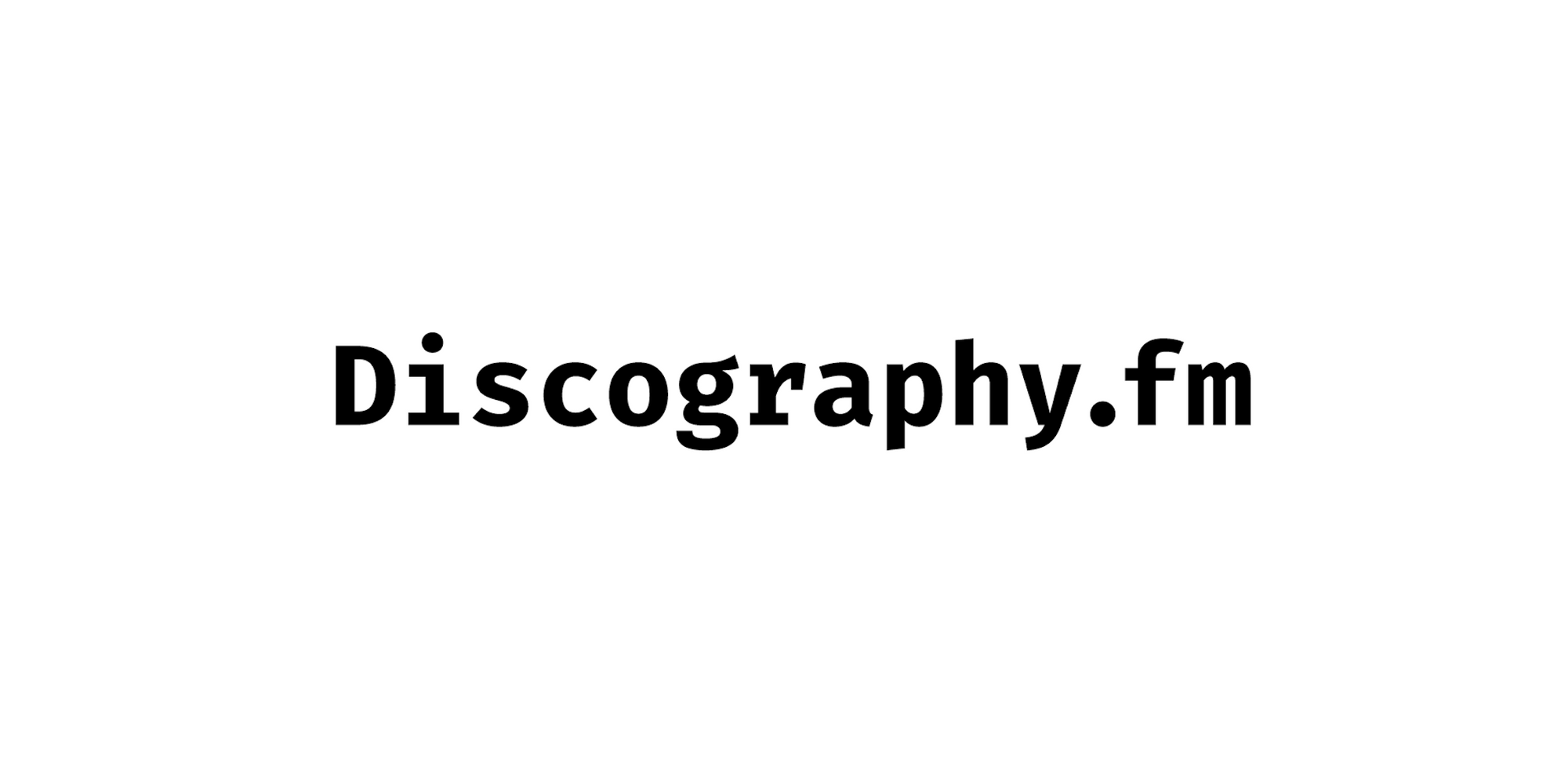 discography.fm